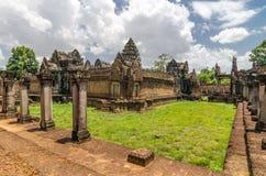 Banteay Samre Day blue sky brown orange floor Royalty Free Stock Photo