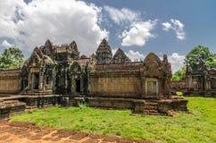 Banteay Samre Day blue sky brown orange floor Royalty Free Stock Images