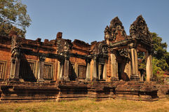 Banteay Samre Prasat στην Καμπότζη Στοκ εικόνα με δικαίωμα ελεύθερης χρήσης