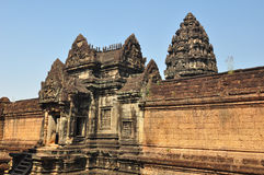 Banteay Samre Prasat is ancient buddhist khmer temple in  Cambod Royalty Free Stock Image