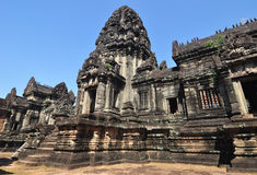 Banteay Samre Prasat is ancient buddhist khmer temple in Cambodi Stock Photography