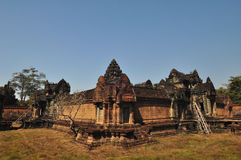 Banteay Samre Prasat  in Angkor Wat, Cambodia. Stock Photo