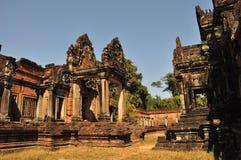 Banteay Samre Prasat  in Angkor Wat, Cambodia. Royalty Free Stock Image
