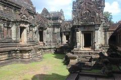 Cambodia. Banteay Samre temple. Siem Reap Province. Siem Reap City. royalty free stock photography