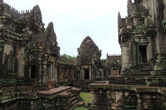 Cambodia. Banteay Samre temple. Siem Reap Province. Siem Reap City. Royalty Free Stock Image