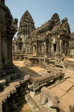 Banteay Samse with all details Stock Images