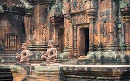 Banteay Srei Obrazy Stock