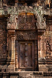 Banteay Srei寺庙 库存图片