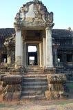 Banteay Srei少校寺庙 免版税图库摄影