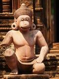 Banteay Srei,吴哥窟,柬埔寨 免版税库存照片