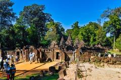 Banteay Srei Royalty Free Stock Image