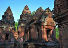 Banteay Srei Stock Photography
