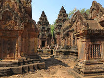 Banteay Srei stock photos