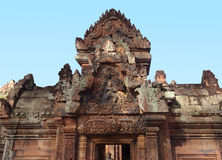 Banteay Srei Photos stock