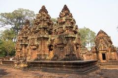 Banteay Srei Foto de Stock
