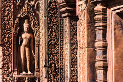 Banteay Srei Royalty-vrije Stock Fotografie