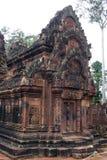 Banteay Srei 2 免版税图库摄影