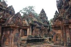 Banteay Srei fotografie stock