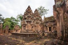 Banteay Srei Foto de archivo
