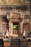 Banteay Srei Fotos de archivo libres de regalías