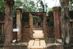 Banteay srei Royalty Free Stock Photo