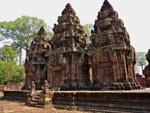 Banteay Srei - Angkor Stock Images