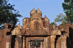 Banteay Srei, Angkor Стоковое Изображение RF