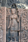 Banteay Srei, Angkor, Cambodge Image stock