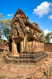 Banteay srei, Angkor, Cambodia. Royalty Free Stock Images