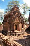 Banteay srei, Angkor, Cambodia. Royalty Free Stock Photos