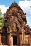 Banteay srei, Angkor, Cambodia. Royalty Free Stock Photography