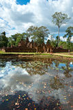 Banteay srei, Angkor, Cambodia. Stock Images