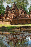 Banteay srei, Angkor, Cambodia. Royalty Free Stock Photography