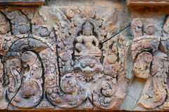 Banteay Srei, Angkor, Cambodia Royalty Free Stock Photography