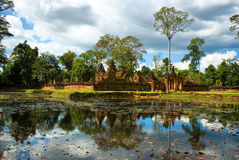 Banteay srei, Angkor, Cambodia. Stock Image