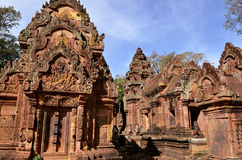 Banteay srei, Angkor, Cambodia Stock Photo