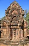 Banteay Srei, Angkor, Camboya Fotografía de archivo libre de regalías