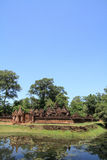 Banteay Srei in Angkor Stock Photos