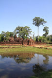 Banteay Srei in Angkor Royalty Free Stock Photos