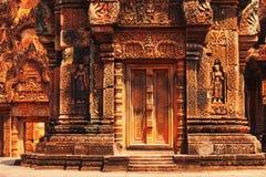 Banteay Srei, Angkor Wat, Καμπότζη Στοκ Εικόνα
