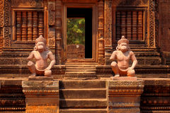 Banteay Srei, Angkor Wat, Καμπότζη Στοκ φωτογραφίες με δικαίωμα ελεύθερης χρήσης