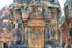 Banteay Srei Angkor Wat Fotografia Royalty Free
