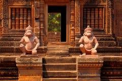 Banteay Srei, Angkor Wat, Cambodia Royalty Free Stock Photos