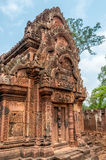 Banteay Srei. In Cambodian Nature Stock Photo