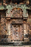 Banteay Srei castle. The most picturesque castle of Angkor Thom in Cambodia. Banteay Srei castle Royalty Free Stock Image