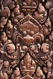 Banteay Srei - details Stock Image