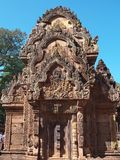 Banteay Srei em Siem Reap imagem de stock royalty free