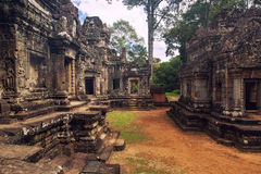 Banteay Srei em Siem Reap, Camboja Foto de Stock Royalty Free