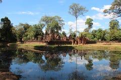 Banteay Srei kambodja Siem oogst Provincie Siem oogst stad Stock Foto's