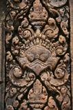 Banteay Srei ou Banteay Srey Images libres de droits